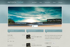 Antioch WordPress Theme from Mint Themes