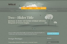 Paper Craft WordPress Theme
