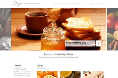 Impero WordPress Theme - White Color Scheme (Medium Screenshot)