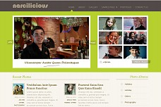 Narcilicious WordPress Theme from Organized Themes