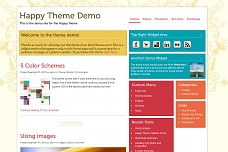Happy WordPress Theme from StudioPress