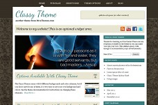 Classy WordPress Theme from Themedy