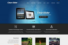 Clean Slider WordPress Theme from MOJO Themes