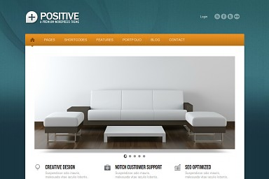 Positive WordPress Theme