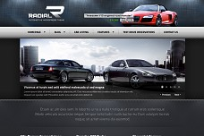 Radial Automotive WordPress Theme from ThemeForest