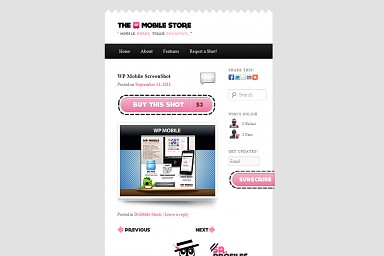 WP Mobile WordPress Theme