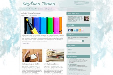 Daytime WordPress Theme