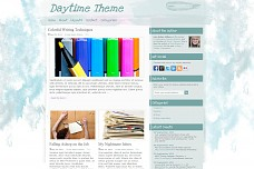 Daytime WordPress Theme from Foundation Framework