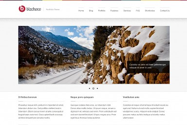 Bizchoco WordPress Theme