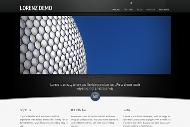 Lorenz WordPress Theme
