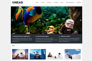Knead WordPress Theme