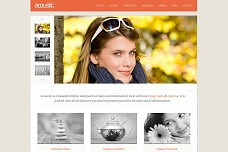 Acoustic Portfolio/Photography WordPress Theme from ThemeForest