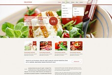 Delicioso Restaurant WordPress Theme from ThemeForest