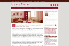 Luscious WordPress Theme from StudioPress