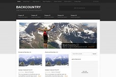 Backcountry WordPress Theme from StudioPress