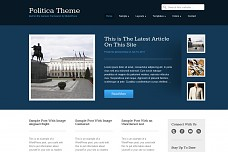 Politica WordPress Theme from StudioPress