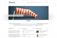 Famous WordPress Theme from ThemeForest