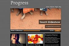 Progress WordPress Theme from Organized Themes