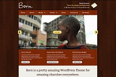 Born WordPress Theme from Themes Kingdom