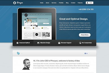 Procyon WordPress Theme