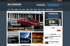 Morning WordPress Theme from WPZOOM