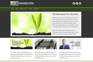 Expansion WordPress Theme
