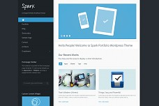 Spark WordPress Theme from ThemeBaker