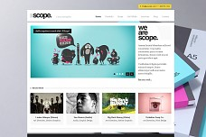Scope WordPress Theme from MOJO Themes