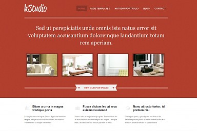 Hstudio WordPress Theme