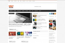Volt Magazine WordPress Theme from ThemeForest
