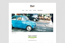 Duet Writer's WordPress Theme from The Theme Foundry
