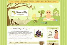 Mommy Blog WordPress Theme from ThemeForest