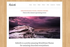 Rebirth WordPress Theme from ThemeForest