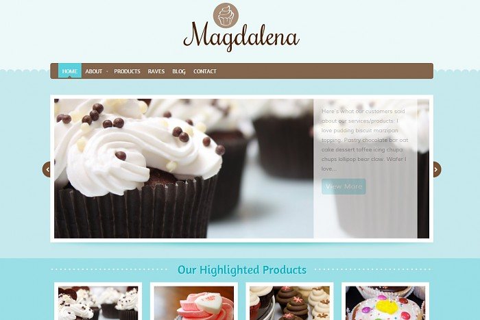 Magdalena WordPress Theme