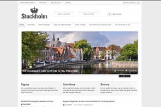 Stockholm Photo Magazine WordPress Theme from Gabfire Themes