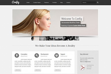Config WordPress Theme