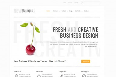 New Business 3 WordPress Theme