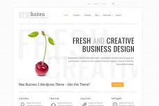 New Business 3 WordPress Theme from ThemeForest