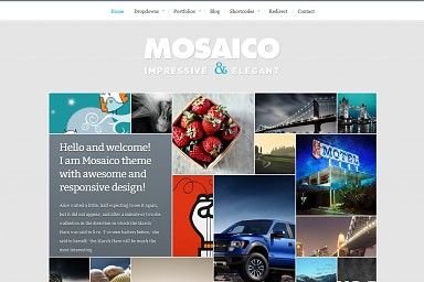 Mosaico WordPress Theme