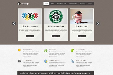Apogee WordPress Theme