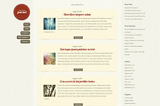 Daily Journal WordPress Theme