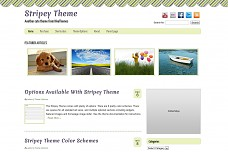 Stripey WordPress Theme from Diva Themes