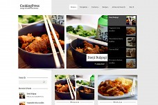 CookingPress WordPress Theme from ThemeForest
