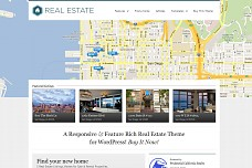 WP Pro Real Estate WordPress Theme from ThemeShift