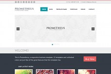 Prometheus WordPress Theme from ThemeForest