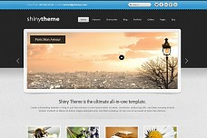 Shiny WordPress Theme from ColorLabs
