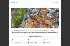 Pioneer WordPress Theme from Elegant Themes