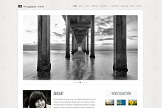 Photographer WordPress Theme from RocketTheme