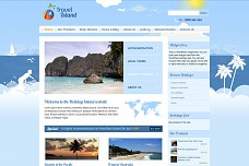 Travel Island WordPress Theme from ThemeForest
