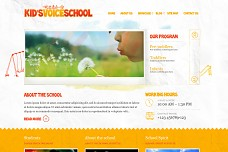 Kids Voice School WordPress Theme from ThemeForest